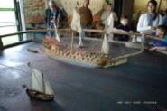 Vasa - maquette naufrage