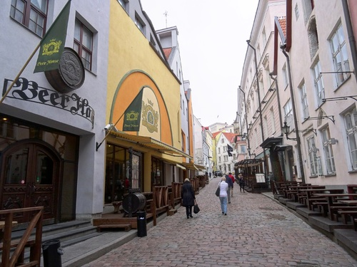 Flânerie dans Tallinn en Estonie (photos)
