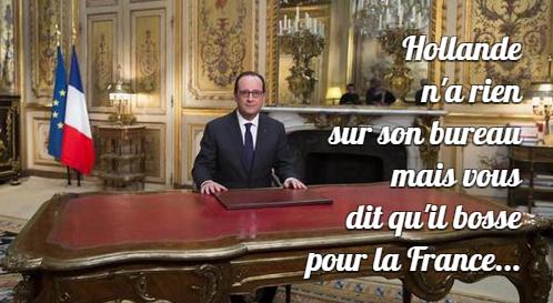 Mon voeu pour Hollande en 2015 : un an pire...
