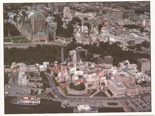 Embarquement pour le Québec