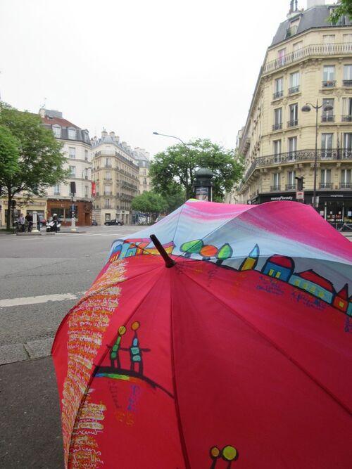 Belles ombrelles à Paris
