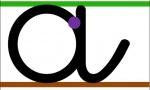 Affichage écriture avec lignes de couleur