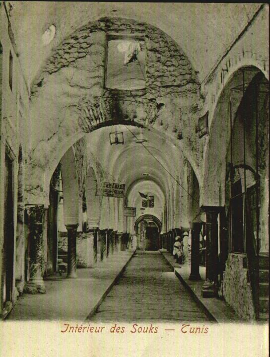 Souk Tunis 1910