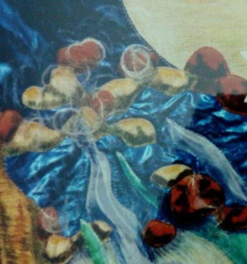 Tableaux Mural n° 2  :  La Fonte des Neiges
