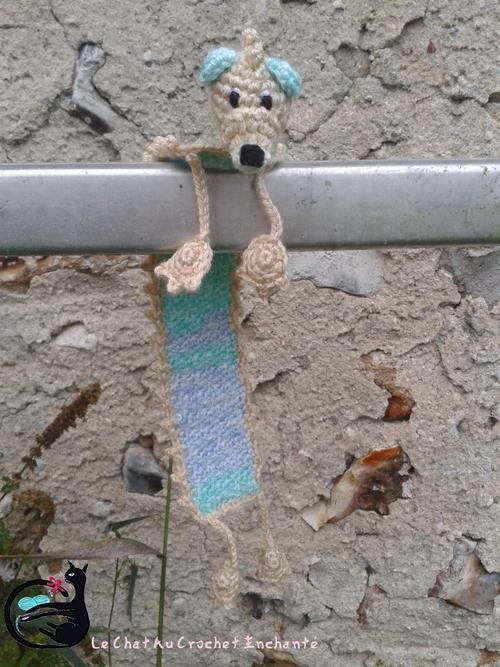 [Marque-Page Peluche] Le hérisson Nuageux