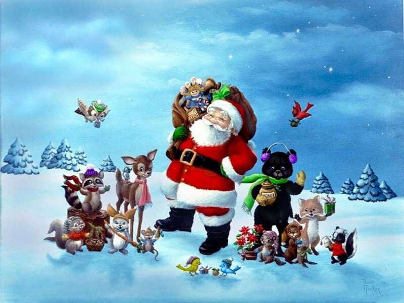 Fonds écran de Noël