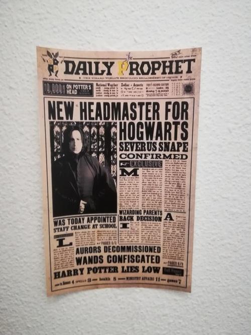 L'anniversaire de Clara sur le thème Harry Potter.