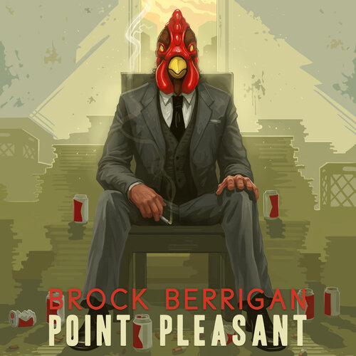 Brock Berrigan - Point Pleasant (2017) [Instrumental Hip-Hop, Beats, Funk]