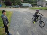 Séance de vélo ensoleillée ce mercredi 18 mai