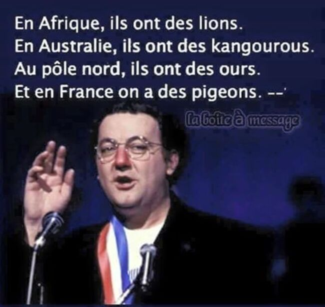Humour du lundi … !!!