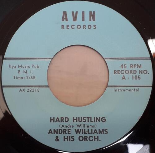 ANDRE WILLIAMS  & HIS ORCHESTRA - AVIN RECORDS - AX 22219 -