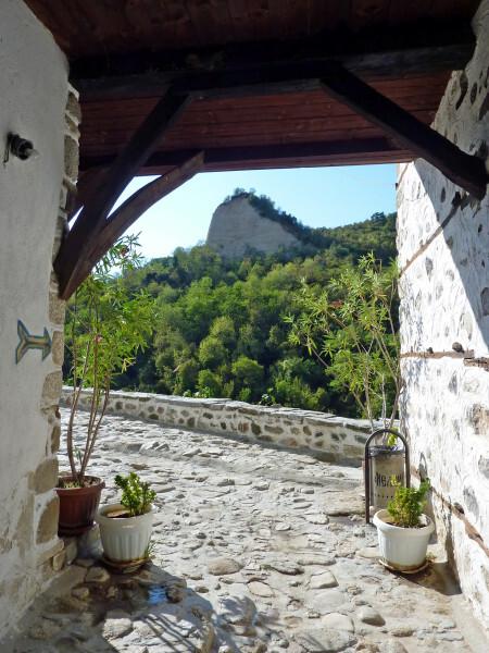 Jour 4 - Melnik - Entrée maison Kordopoulov