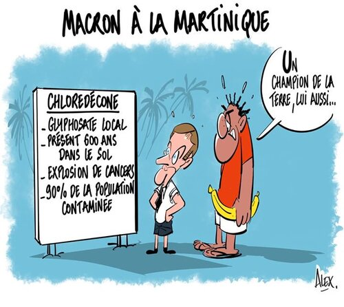 Le voyage de Macron vu par les internautes