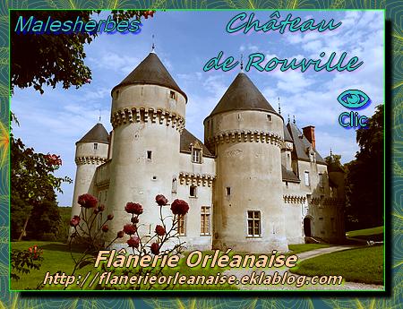 Le Château de Rouville à Malesherbes