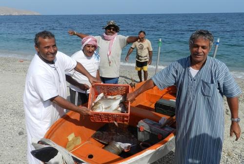Musandam Pêcheurs accueillants