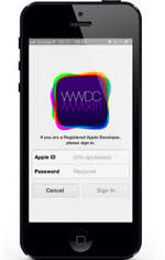 Mise à jour de l'application WWDC