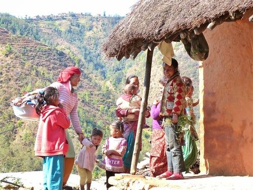 un groupe de villageoises
