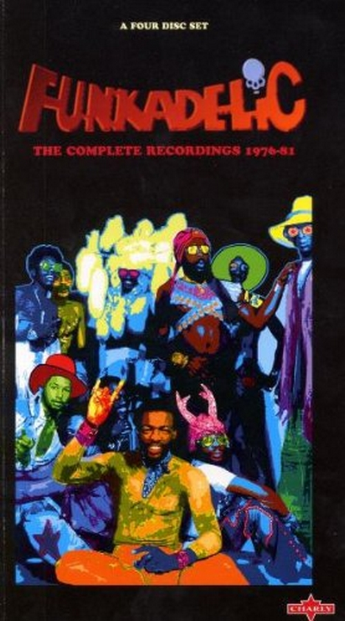 "Funkadelic ‎: Box Set 4xCD  "" The Complete Recordings 1976-81"" Charly Records CDDIG 23 [ GE ]"