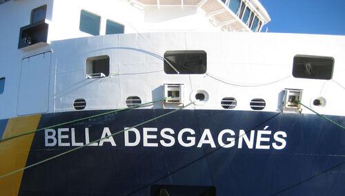 """Croisière """"Nordique """" sur le Bella Desgagnés/ au Québec"""