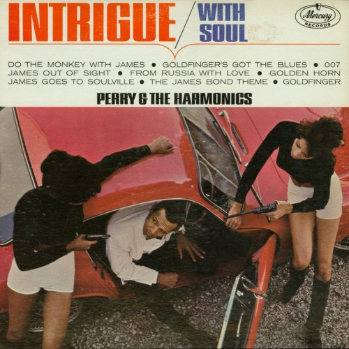 "Perry & The Harmonics : "" Intrigue With Soul "" Mercury Records MG 21037 [ US ]"