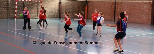 rencontres départementales handball à Amiens