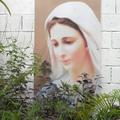 """""""Une image de la Mère, la bonne Mère"""" à l'Eglise de Ducos - Photo : Sofoyal"""