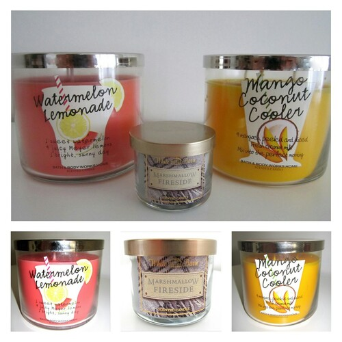 Bath and Body Works bougies 3 mèches