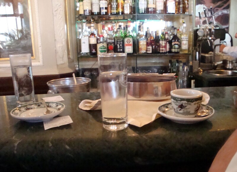 Caffè Gambrinus, Napoli.