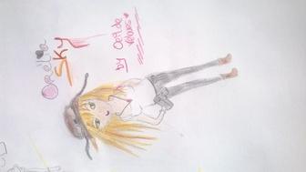 5 dessins manga !