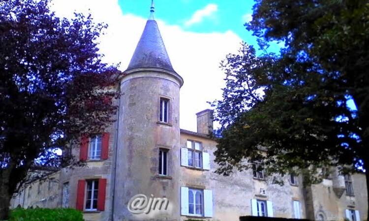 St-André-du-Bois - Le château de Malromé ou mourut Henri de Toulouse-Lautrec