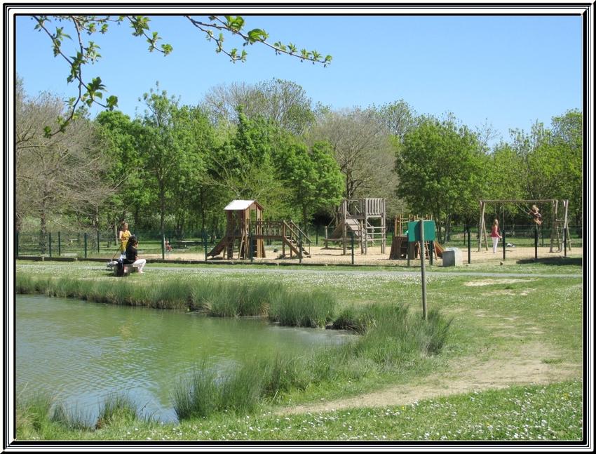Une balade au parc de loisirs des prés  Valet (St Georges d'Oléron )