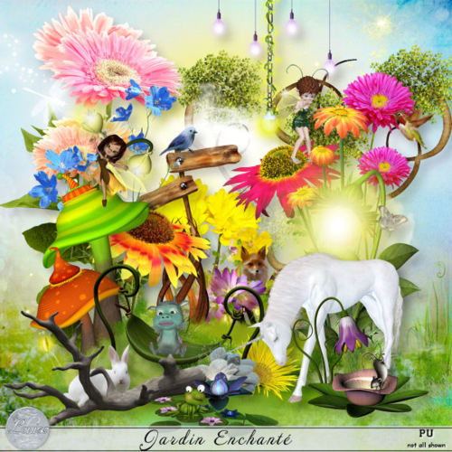 Jardin Enchanté by Louise L