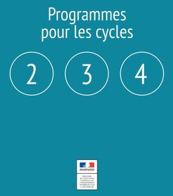 Nouveaux programmes