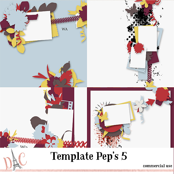 Template Pep's Vol 5