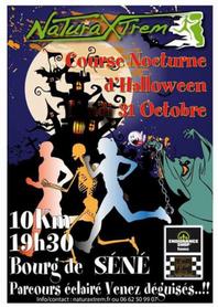 Course Nocturne d'Halloween - Séné - Mardi 31 octobre 2017