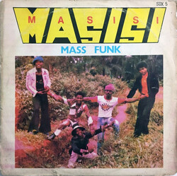 Masisi Mass Funk - I Want You Girl - Complete LP