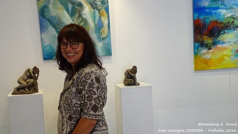 Exposition Georgeta CORDIER - Préfailles - 2016