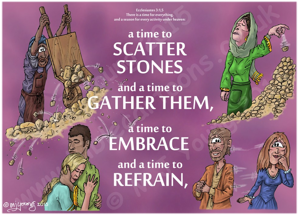 Ecclesiastes 03 - A time for everything - Scene 04 - Scatter, gather, hold, part