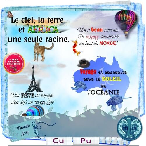 Voyage en montgolfière-Océanie