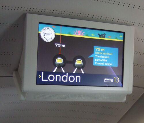 Aller à Londres en Eurostar