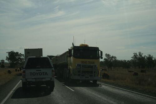 En route pour 500 km vers l'Ouest, direction Mitchell