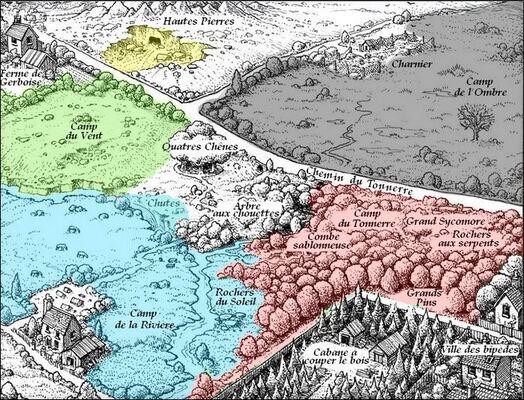 Clan de l'Ombre - La Guerre Des Clans