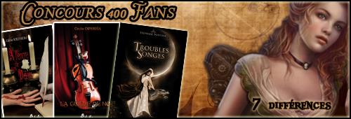Concours 400 Fans ♠ 4
