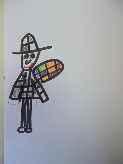 """Arts visuels """"Le petit chasseur de bruits"""""""