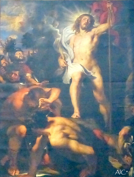 La Résurrection - Pierre-Paul Rubens - cathédrale d'Anvers