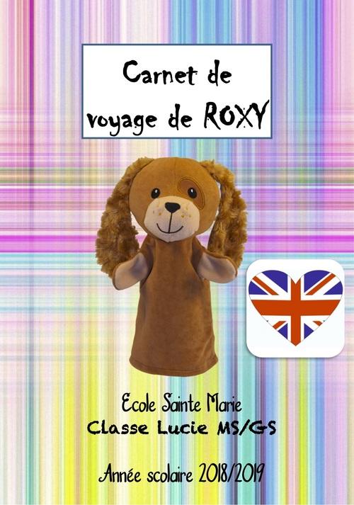 Cahier d'une mascotte en  anglais