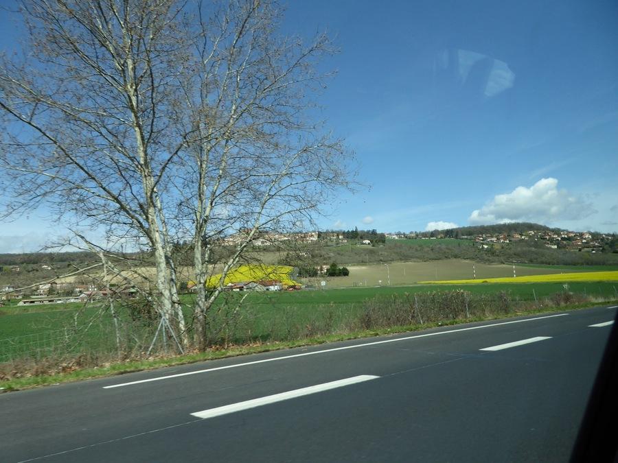 De Clermont vers l'Espagne...