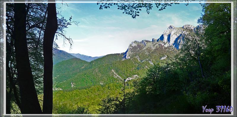 Le Pic Saillant (Massif du Gar) - Boutx - 31