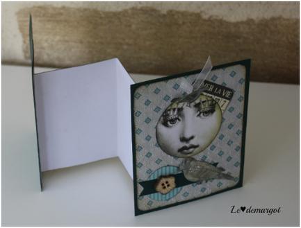 Scrap / Une carte pop up