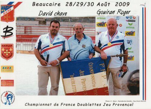 Les Champions de France JP de 1999 à 2019